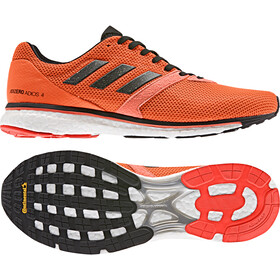 adidas Adizero Adios 4 Shoes Herre solar orange/core black/hi-res coral